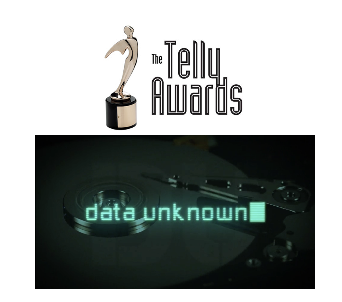Data Unknown Wins a Telly!